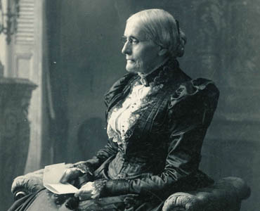 Photo: Susan B. Anthony Letters Feature Graphic