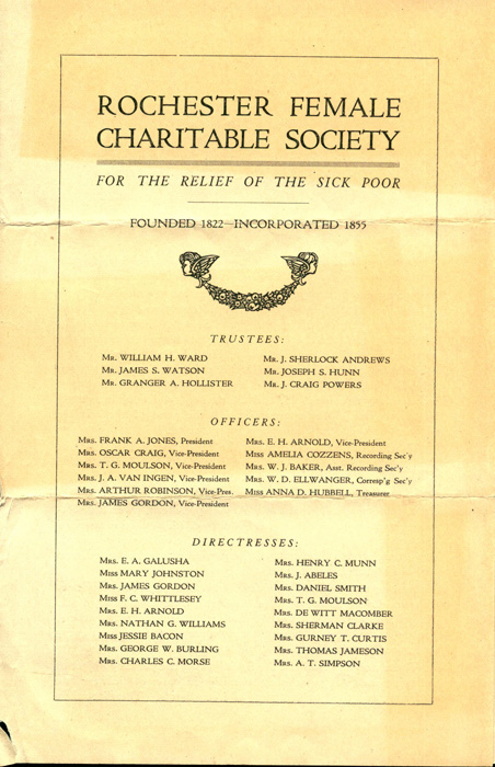 Rochester Female Charitable Society