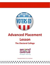 A lesson plan on the Electoral College for AP level U.S. Government & Politics and U.S. History. Teaser Graphic