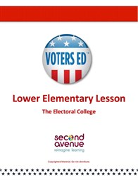 A lesson plan on the Electoral College for grades 3 & 4. Teaser Graphic