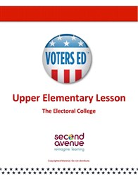 A lesson plan on the Electoral College for grades 5 & 6. Teaser Graphic
