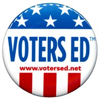 Photo: Voters Ed™ grades 9, 10, 11, 12 Feature Graphic
